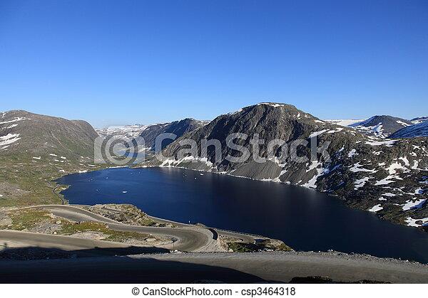 Tranquil scene in Norwegay - csp3464318