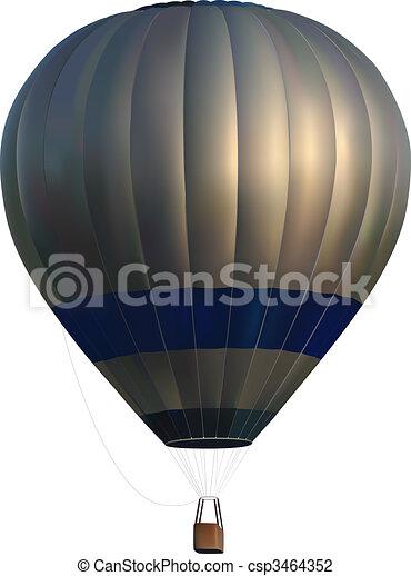 hot air balloon - csp3464352
