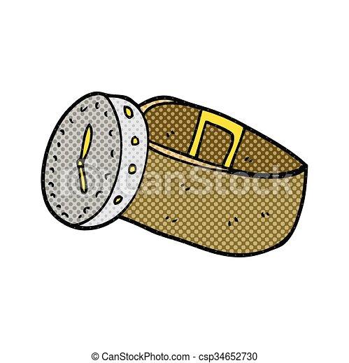 Armbanduhr gezeichnet  Vektoren von armbanduhr, karikatur - freehand, gezeichnet ...