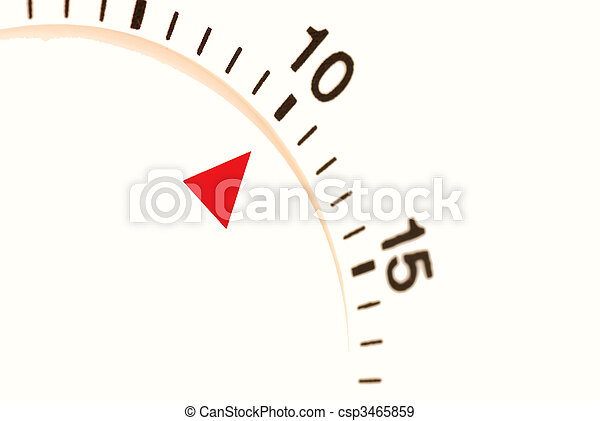 ten minutes left to go on a timer - csp3465859