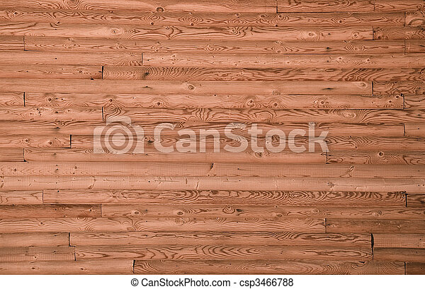 a, parede, pinho, madeira, tábua, forro, closeup, frontally - csp3466788