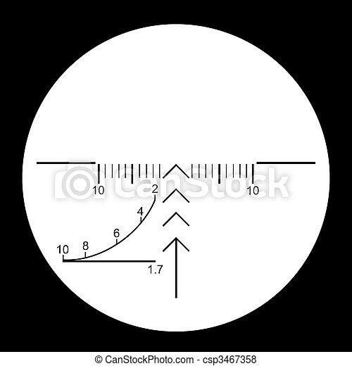 Sniper sight - csp3467358