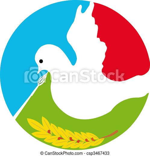 Dove of Peace - csp3467433