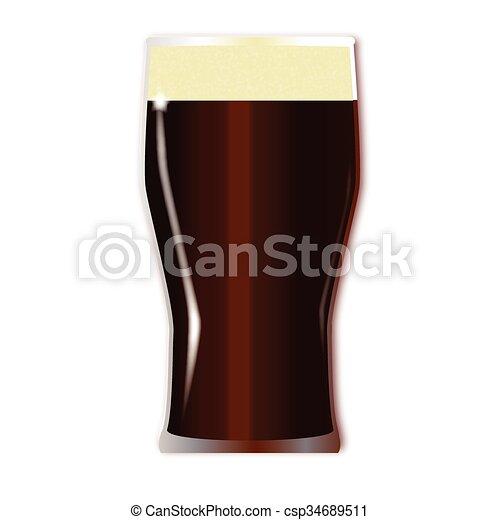 Tall Beer Glasses Clip Art