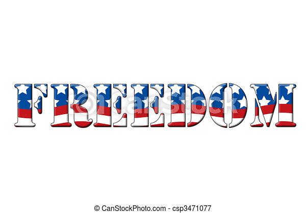Freedom - csp3471077