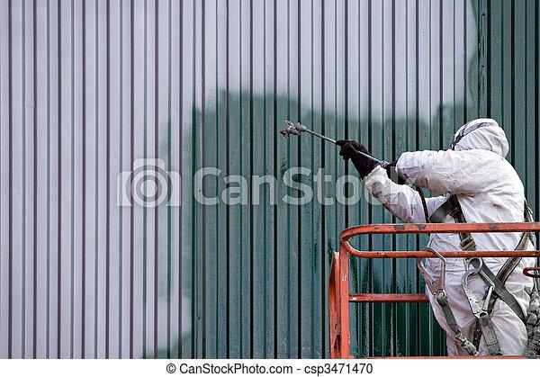 Commercial Painter - csp3471470