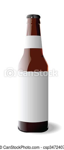 Bottle beer - csp3472407