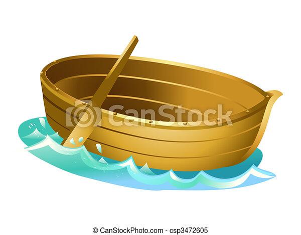 Canoe bois