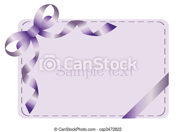 Invitation card for holiday or engaged party - csp3472822