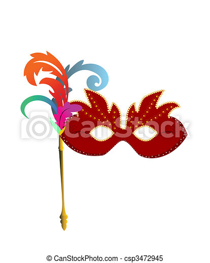 carnaval masks - csp3472945