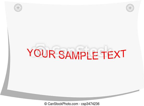 Note pad - csp3474236