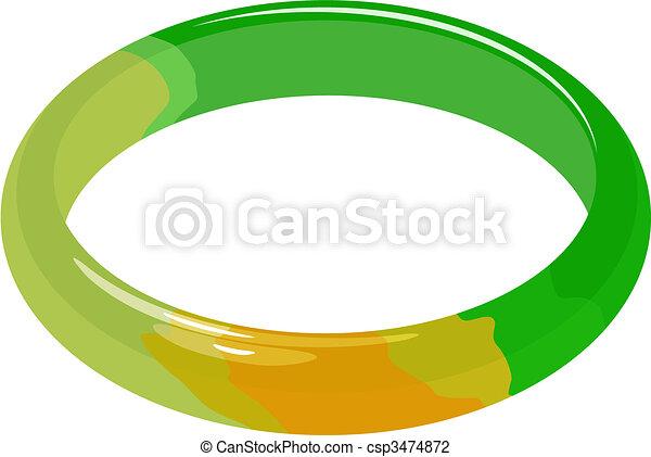 jade bracelet - csp3474872
