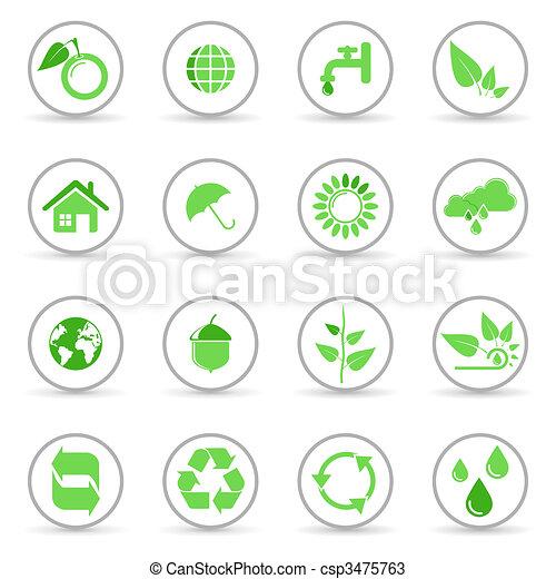 Environmental icons - csp3475763