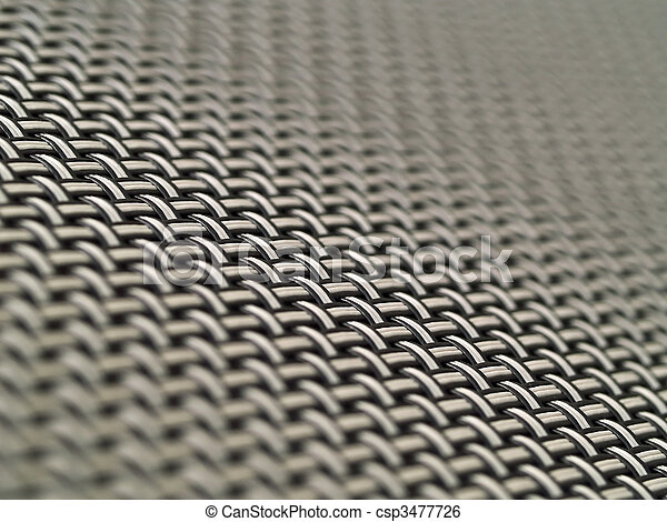 Weave Pattern Showing Repetition Useful as Background - csp3477726