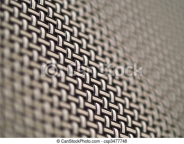 Weave Pattern Showing Repetition Useful as Background - csp3477748
