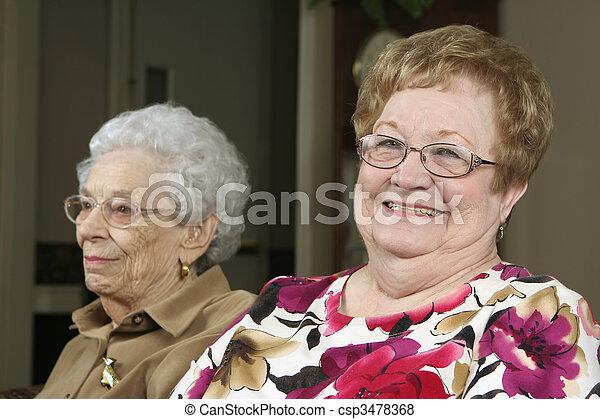 Two Active Seniors - csp3478368