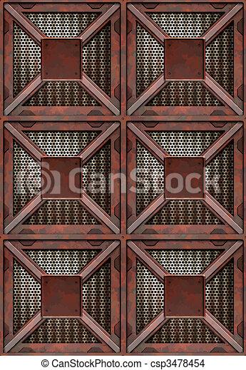rusting crates - csp3478454