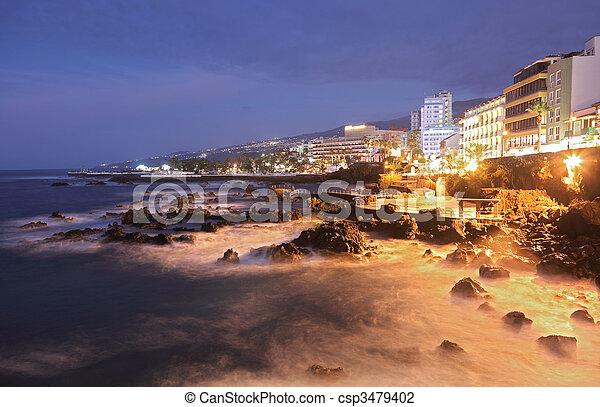 Tenerife - Puerto de la Cruz - csp3479402