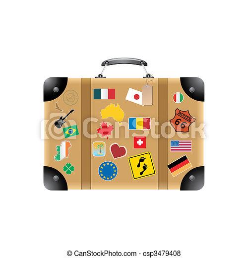 Suitcase - csp3479408