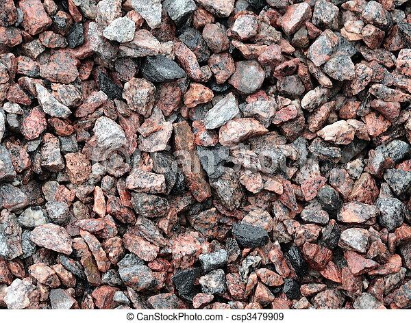 gravel for background - csp3479909