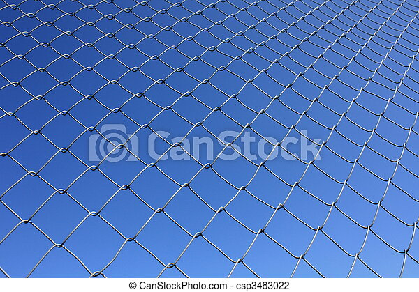 Isolated Rabitz wire netting - csp3483022