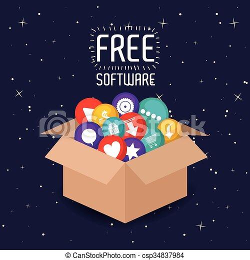 Vector Of Free Software Design Free Software Design