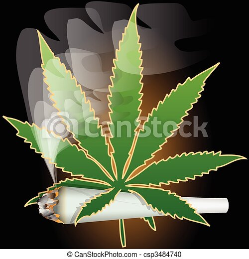 Marijuana-Cannabis-Joint - csp3484740