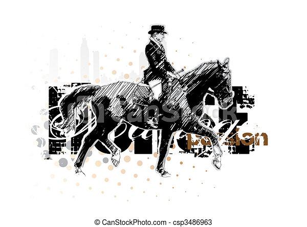 horse 2 - csp3486963