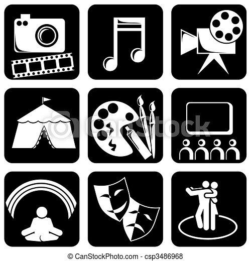 icons art - csp3486968
