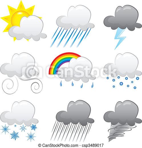 Cloud Icons - csp3489017