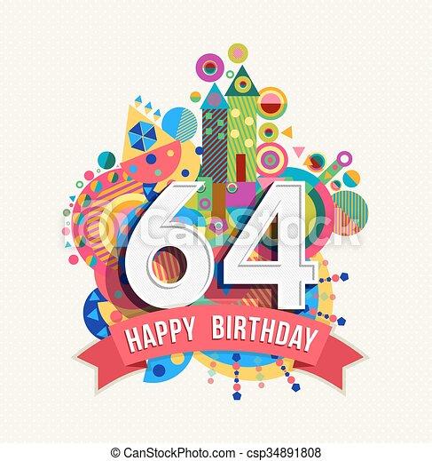 64 Jaar