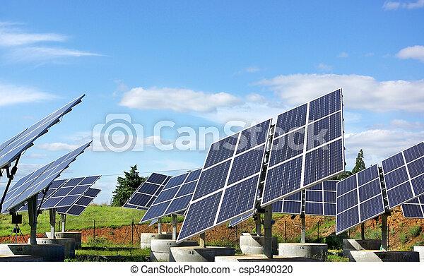 Photovoltaic panels. - csp3490320