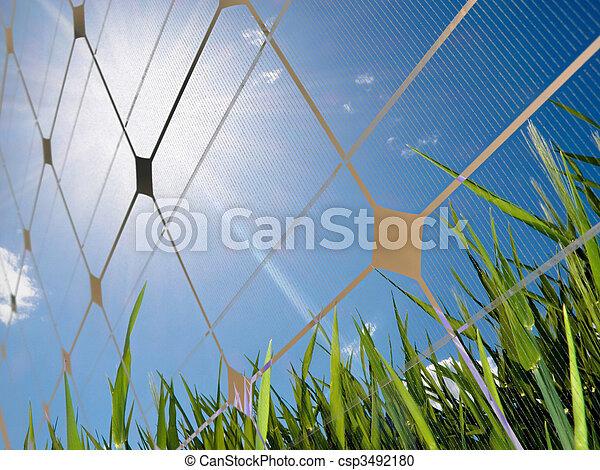 Solar energy concept - csp3492180