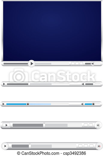 Browser video players - csp3492386