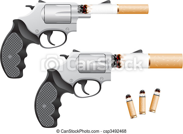 Smoking is death - csp3492468