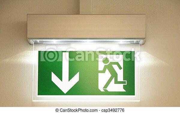 emergency exit - csp3492776