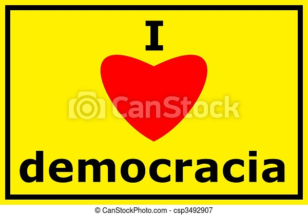 democracy - csp3492907