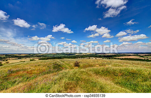 Old Winchester Hill - csp34935139