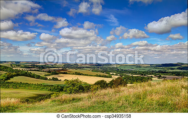 Old Winchester Hill - csp34935158