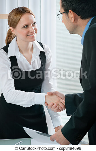 job interview - csp3494696