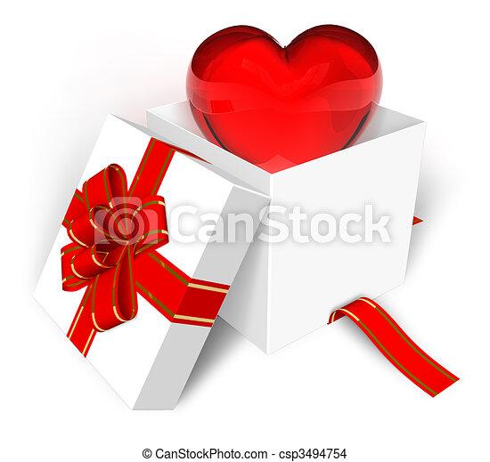 Valentine's Day concept - csp3494754