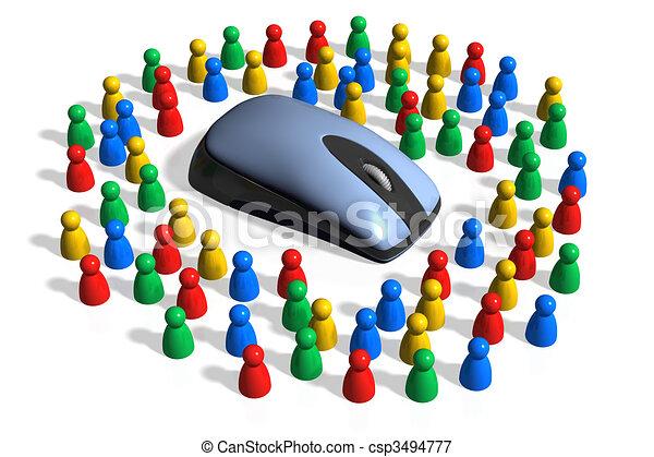 Informational Society - csp3494777