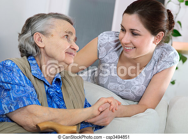 nursing home - csp3494851