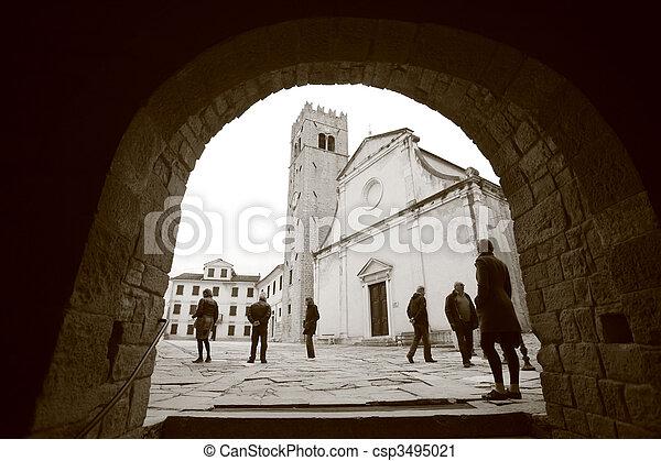 Motovun, Croatia - csp3495021
