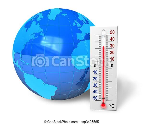 Global warming concept - csp3495565