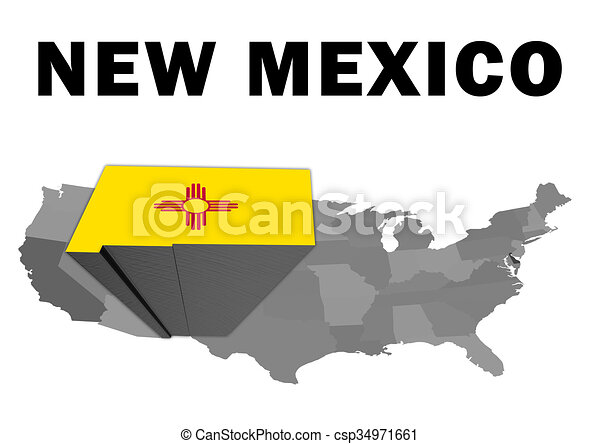 New Mexico - csp34971661