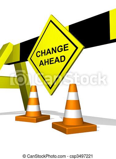 Change ahead - csp3497221