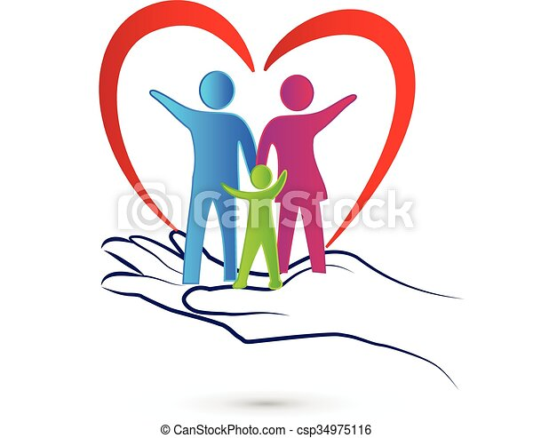 Family care logo - csp34975116
