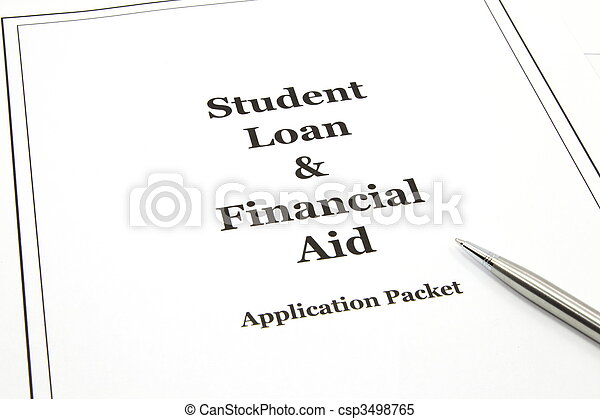 Student Loan and Financial Aid Application Packet - csp3498765