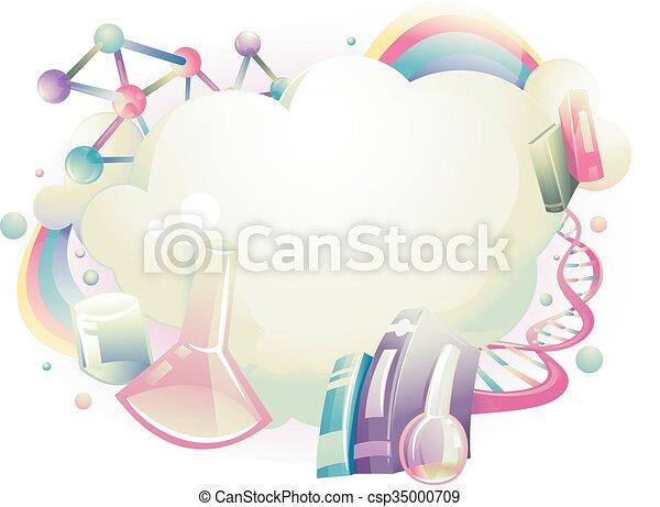 Ciencia, Extracto, diseño - csp35000709